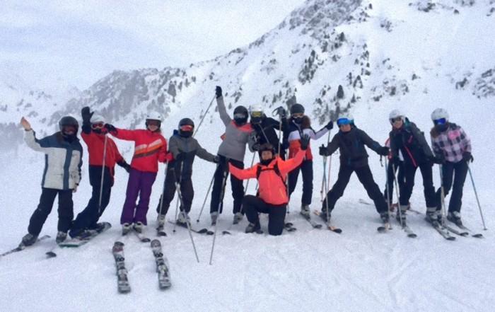 Verslag skikamp Hochoetz-Kühtai, leerjaar 3 HAVO/VWO, Bernardinuscollege te Heerlen