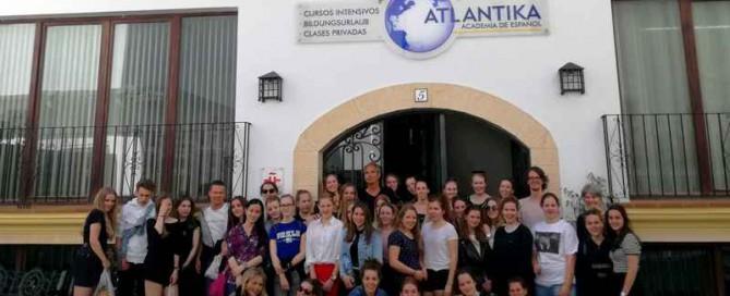 Reisverslag Veluws College Walterbosch naar Conil de la Frontera (Andalusië)