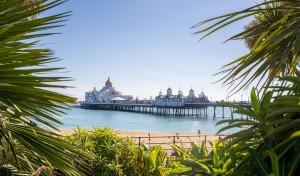 Eastbourne TTO Taalreis, uitwaaien op de pier