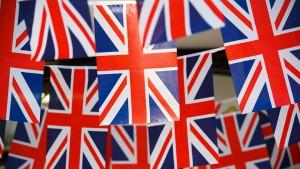 Groot Britannie.Union Jack vlag